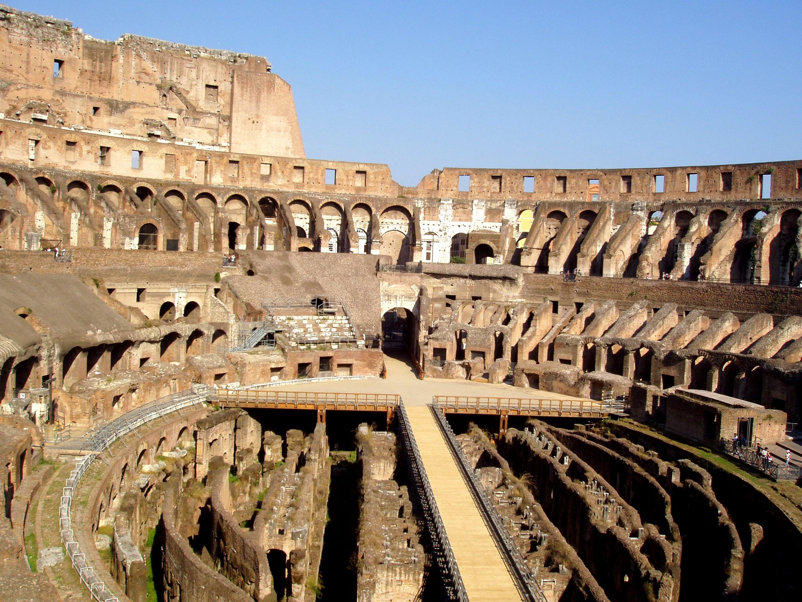 The Coliseum Italy